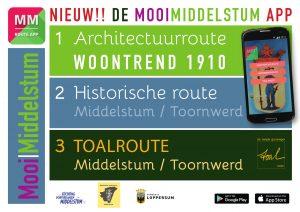 "Uitbreiding App ""MOOI MIDDELSTUM"""